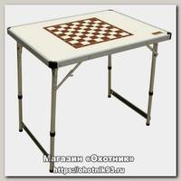 Стол Camping World Chess ivory шахматный до 30 кг 80х60 см