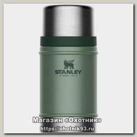 Термос Stanley Classic для еды 0,7л темно-зеленый