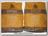 Уголь Антар древесный 3 кг мягкая упаковка