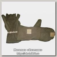 Варежки-перчатки ХСН хаки