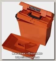 Ящик MTM герметичный для хранения патронов и снаряжения оранжевый