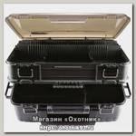 Ящик Meiho Versus Pontoon21 2 яруса 390x295x186 черный