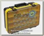 Ящик Meiho Versus Pontoon21 380х270х120 желтый