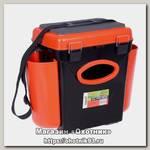 Ящик зимний Helios Fish box 10л оранжевый