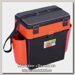 Ящик зимний Helios Fish box 19л оранжевый